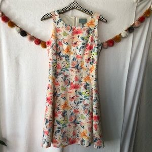{Anthro Skies Are Blue} Floral Dress